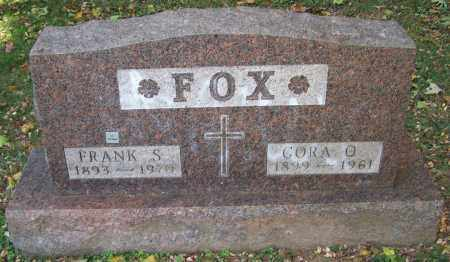 FOX, FRANK S. - Stark County, Ohio | FRANK S. FOX - Ohio Gravestone Photos