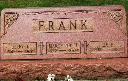 FRANK, LEO P. - Stark County, Ohio | LEO P. FRANK - Ohio Gravestone Photos