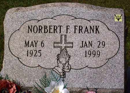 FRANK, NORBERT F. - Stark County, Ohio | NORBERT F. FRANK - Ohio Gravestone Photos