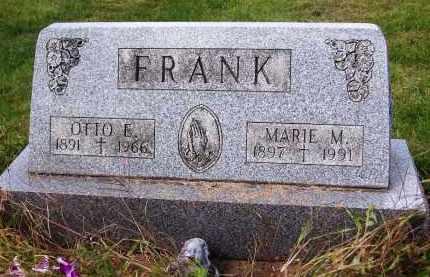 FRANK, OTTO E. - Stark County, Ohio | OTTO E. FRANK - Ohio Gravestone Photos