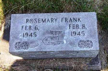 FRANK, ROSEMARY - Stark County, Ohio | ROSEMARY FRANK - Ohio Gravestone Photos