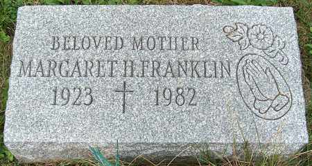 FRANKLIN, MARGARET H. - Stark County, Ohio | MARGARET H. FRANKLIN - Ohio Gravestone Photos