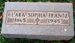 FRANTZ, CLARA SOPHIA - Stark County, Ohio | CLARA SOPHIA FRANTZ - Ohio Gravestone Photos