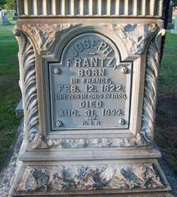 FRANTZ, JOSEPH - Stark County, Ohio | JOSEPH FRANTZ - Ohio Gravestone Photos