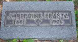 FRANTZ, JOSEPHINE - Stark County, Ohio | JOSEPHINE FRANTZ - Ohio Gravestone Photos
