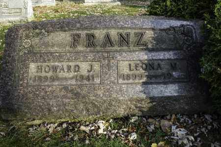 FRANZ, HOWARD J - Stark County, Ohio | HOWARD J FRANZ - Ohio Gravestone Photos