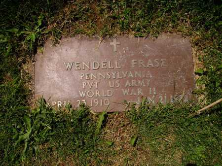 FRASE, WENDELL - MILTARY - Stark County, Ohio | WENDELL - MILTARY FRASE - Ohio Gravestone Photos