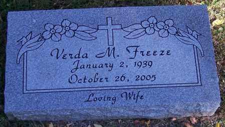 FREEZE, VERDA M. - Stark County, Ohio | VERDA M. FREEZE - Ohio Gravestone Photos