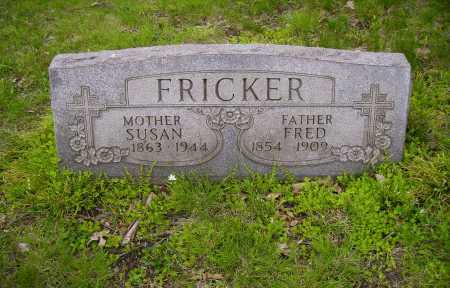 FRICKER, FREDERICK - Stark County, Ohio | FREDERICK FRICKER - Ohio Gravestone Photos