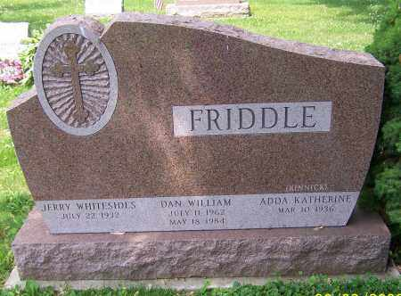 FRIDDLE, ADDA KATHERINE - Stark County, Ohio | ADDA KATHERINE FRIDDLE - Ohio Gravestone Photos