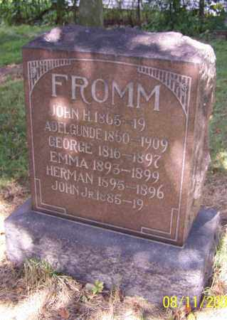 FROMM, EMMA - Stark County, Ohio | EMMA FROMM - Ohio Gravestone Photos