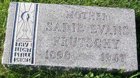 EVANS FRUTSCHY, SADIE - Stark County, Ohio | SADIE EVANS FRUTSCHY - Ohio Gravestone Photos