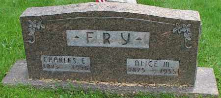 FRY, ALICE M. - Stark County, Ohio | ALICE M. FRY - Ohio Gravestone Photos