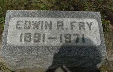 FRY, EDWIN R. - Stark County, Ohio | EDWIN R. FRY - Ohio Gravestone Photos
