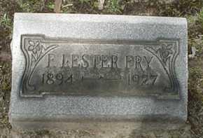 FRY, F. LESTER - Stark County, Ohio | F. LESTER FRY - Ohio Gravestone Photos