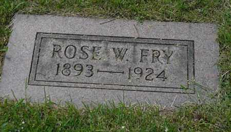 WUCHERER  FRY, ROSE E. - Stark County, Ohio | ROSE E. WUCHERER  FRY - Ohio Gravestone Photos