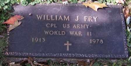 FRY, WILLIAM J. - Stark County, Ohio | WILLIAM J. FRY - Ohio Gravestone Photos