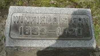 FRY, WINFIELD S. - Stark County, Ohio   WINFIELD S. FRY - Ohio Gravestone Photos