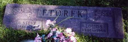 FTOREK, LOUISE - Stark County, Ohio | LOUISE FTOREK - Ohio Gravestone Photos