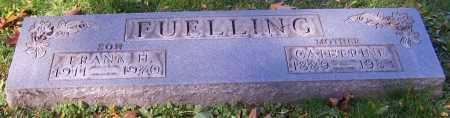 FUELLING, FRANK H. - Stark County, Ohio | FRANK H. FUELLING - Ohio Gravestone Photos