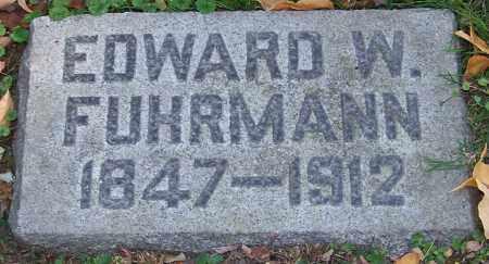 FUHRMANN, EDWARD W. - Stark County, Ohio | EDWARD W. FUHRMANN - Ohio Gravestone Photos