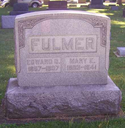 FULMER, MARY E. - Stark County, Ohio | MARY E. FULMER - Ohio Gravestone Photos
