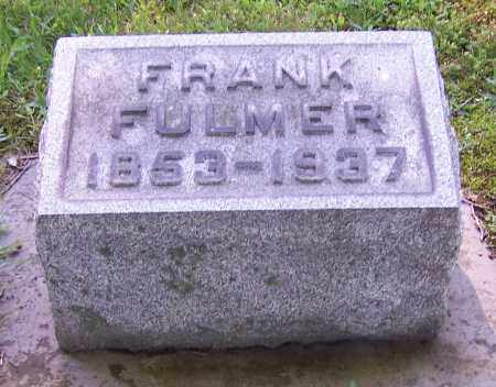 FULMER, FRANK - Stark County, Ohio | FRANK FULMER - Ohio Gravestone Photos