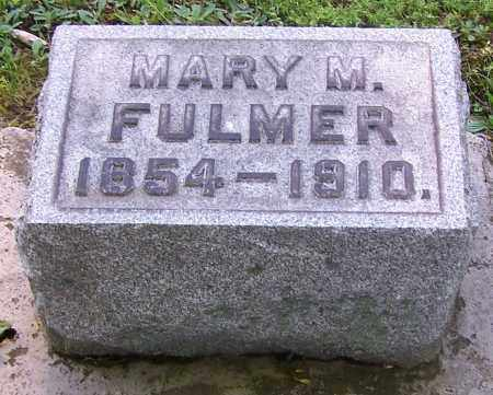 GESHER FULMER, MARY M. - Stark County, Ohio | MARY M. GESHER FULMER - Ohio Gravestone Photos