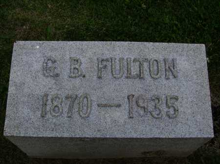 FULTON, GEORGE B. - Stark County, Ohio | GEORGE B. FULTON - Ohio Gravestone Photos