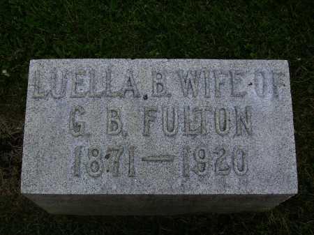FULTON, LUELLA B. - Stark County, Ohio | LUELLA B. FULTON - Ohio Gravestone Photos