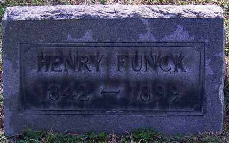 FUNCK, HENRY - Stark County, Ohio | HENRY FUNCK - Ohio Gravestone Photos