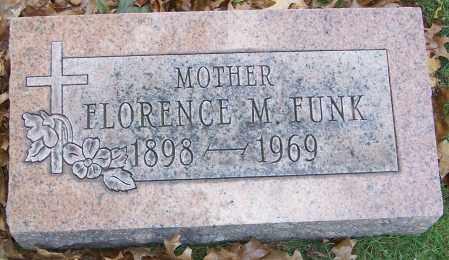 FUNK, FLORENCE M. - Stark County, Ohio | FLORENCE M. FUNK - Ohio Gravestone Photos
