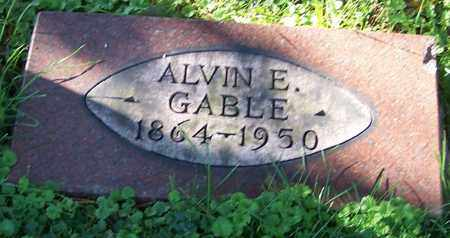 GABLE, ALVIN E. - Stark County, Ohio | ALVIN E. GABLE - Ohio Gravestone Photos