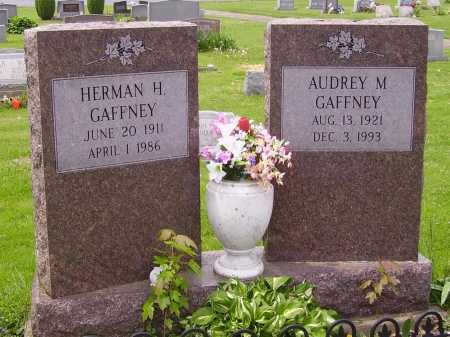 GAFFNEY, AUDREY M. - Stark County, Ohio | AUDREY M. GAFFNEY - Ohio Gravestone Photos