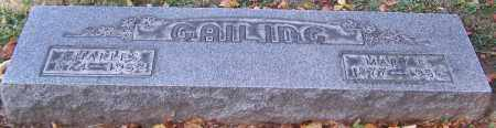 GAILIDG, MARY E. - Stark County, Ohio | MARY E. GAILIDG - Ohio Gravestone Photos