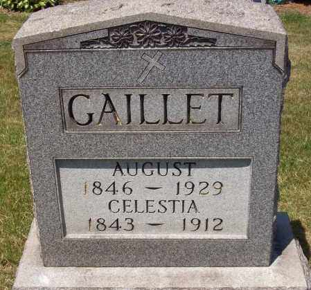 MONNOT GAILLET, CELESTIA - Stark County, Ohio | CELESTIA MONNOT GAILLET - Ohio Gravestone Photos