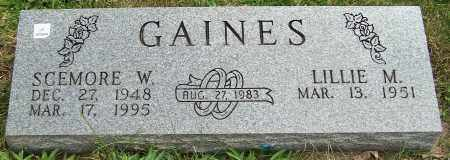 GAINES, SCEMORE W. - Stark County, Ohio | SCEMORE W. GAINES - Ohio Gravestone Photos
