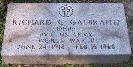 GALBRAITH, RICHARD C. - Stark County, Ohio | RICHARD C. GALBRAITH - Ohio Gravestone Photos