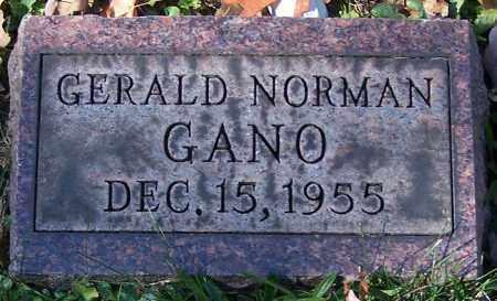GANO, GERALD NORMAN - Stark County, Ohio | GERALD NORMAN GANO - Ohio Gravestone Photos