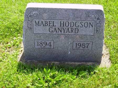 HODGSON GANYARD, MABEL - Stark County, Ohio | MABEL HODGSON GANYARD - Ohio Gravestone Photos