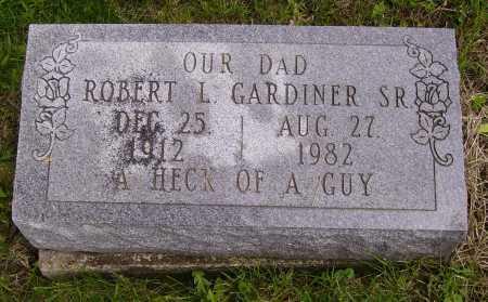 GARDINER, SR., ROBERT L. - Stark County, Ohio   ROBERT L. GARDINER, SR. - Ohio Gravestone Photos