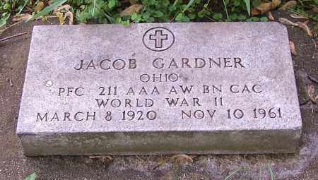 GARDNER, JACOB  (MIL) - Stark County, Ohio | JACOB  (MIL) GARDNER - Ohio Gravestone Photos
