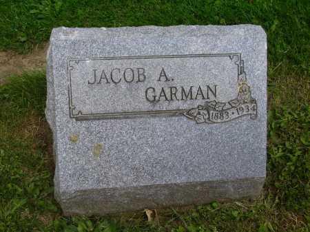 GARMAN, JACOB A. - Stark County, Ohio | JACOB A. GARMAN - Ohio Gravestone Photos