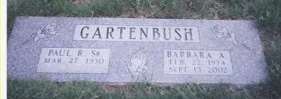 MERRYMAN GARTENBUSH, BARBARA ANN - Stark County, Ohio | BARBARA ANN MERRYMAN GARTENBUSH - Ohio Gravestone Photos