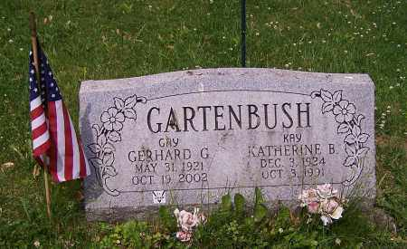 GARTENBUSH, GERHARD G. - Stark County, Ohio | GERHARD G. GARTENBUSH - Ohio Gravestone Photos