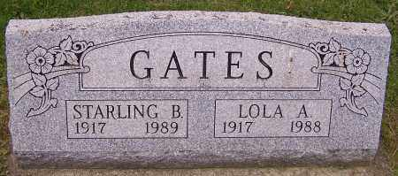 GATES, STARLING B. - Stark County, Ohio | STARLING B. GATES - Ohio Gravestone Photos