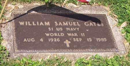 GATES, WILLIAM SAMUEL - Stark County, Ohio | WILLIAM SAMUEL GATES - Ohio Gravestone Photos