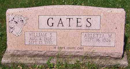 GATES, WILLIAM S. - Stark County, Ohio | WILLIAM S. GATES - Ohio Gravestone Photos