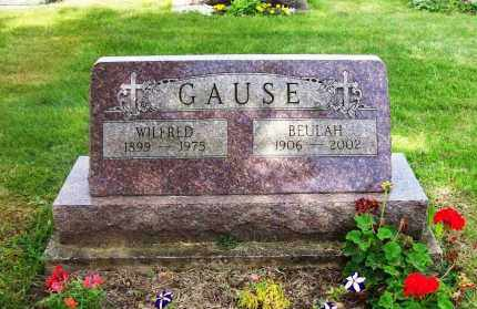GAUSE, WILFRED - Stark County, Ohio | WILFRED GAUSE - Ohio Gravestone Photos