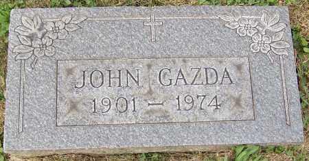 GAZDA, JOHN - Stark County, Ohio | JOHN GAZDA - Ohio Gravestone Photos